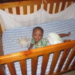 handicap 7month baby in a bed, delivered basic supplies to them worth $12,000